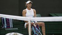 Španělce Muguruzaové se letošní Wimbledon vůbec nevydařil. Vypadla už v prvním kole a nyní ukončila spolupráci s trenérem Sumykem.