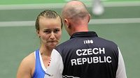 Kapitán českého týmu Petr Pála a Barbora Krejčíková.