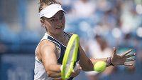 Česká tenistka Barbora Krejčíková na úvod US Open nadělila australské soupeřce kanára.