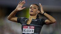 Sydney McLaughlinová zaběhla na mistrovství USA v Eugene časem 51,90 světový rekord na 400 metrů překážek. Maximum Muhammadové překonala o 26 setin.