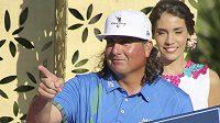 Americký golfista Pat Perez v mexickém Playa del Carmen