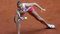 Konec. Česká tenistka Karolína Plíšková v Madridu dohrála ve druhém kole.