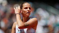 Tohle nevyšlo, Karolína Plíšková v Paříži končí. S ruskou hvězdou Marií Šarapovovou velmi rychle - 2:6, 1:6.