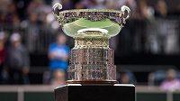 Trofej pro vítězky Fed Cupu.