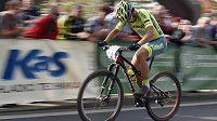 Slovenský mistr světa v silniční cyklistice Peter Sagan byl v Teplicích hlavní hvězdou.