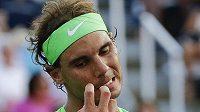 Španěl Rafael Nadal ve druhém kole US Open.