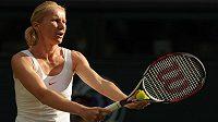 Jana Novotná ve Wimbledonu při turnaji legend v roce 2010