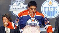 Ruský hokejista Nail Jakupov se stal jedničkou letošního draftu, vybral si ho Edmonton.