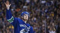 Daniel Sedin se loučí s fanoušky a kariérou ve Vancouveru.