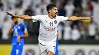 Fotbalový útočník Baghdad Bounedjah dal v roce 2018 víc gólů než největší hvězdy ve slavných klubech.
