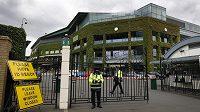 Areál All England Clubu, kde se hraje slavný Wimbledon.