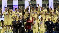 Fotbalisté mexického celku Club América slaví dvanáctý ligový titul.