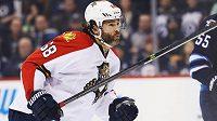Jaromír Jágr vstřelil v utkání na ledě Winnipegu vítězný gól, už 133. v NHL.