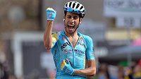 Ital Fabio Aru, vítěz 15. etapy Gira d´Italia.