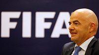 Nedávno zvolený šéf FIFA Gianni Infantino.