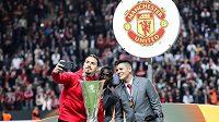 """Hvězdný útočník Zlatan Ibrahimovic končí v Manchesteru United. Vedení """"Rudých ďáblů"""" s pětatřicetiletým fotbalistou neprodloužilo končící smlouvu."""