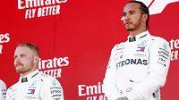 Valtteri Bottas a Lewis Hamilton se pokusí o rekord.