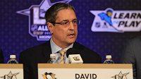 Prezident a výkonný šéf hokejového Pittsburghu David Morehouse.