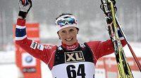 Radost norské lyžařky Marit Björgenové