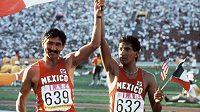 Ve věku 61 let zemřel někdejší špičkový mexický chodec Ernesto Canto, olympijský vítěz a mistr světa v závodech na 20 km. (na archivním snímku vpravo)