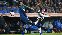 Bývalý argentinský fotbalový reprezentant Fernando Gago si ve finále Poháru osvoboditelů přetrhl Achillovu šlachu.