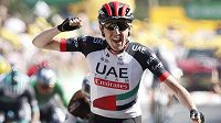 Ir Daniel Martin se raduje, vyhrál šestou etapu Tour de France.