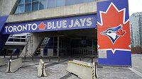Osiřelý stadion baseballistů Toronto Blue Jays.