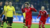 Mario Götze se omlouvá fanouškům Dortmundu za svou trefu.