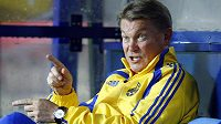 Oleg Blochin v době, kdy vedl ukrajinskou reprezentaci.