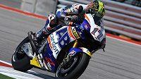 Karel Abraham, devatenáctý muž průběžného pořadí MotoGP