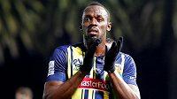 Bývalý fenomenální atlet Usain Bolt má za sebou debut za australský fotbalový tým Central Coast Mariners.