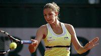 Česká tenistka Karolína Plíšková na úvod French Open nezaváhala