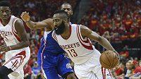 James Harden (13) znovu nechybí v ideální sestavě zámořské NBA.