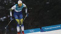 Vítězka kvalifikace sprintu běžkyň na lyžích Stina Nilssonová ze Švédska.