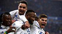 Fotbalisté Lyonu - ilustrační foto.