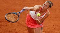 Karolína Plíšková na letošním French Open.