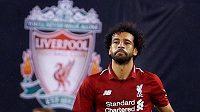 Liverpoolský kanonýr Mo Salah už zase střílí. Tentokrát se trefil do sítě Manchesteru City.