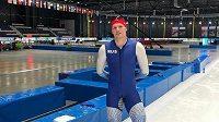 Ruský reprezentační shorttrackař a rychlobruslař Ruslan Zacharov na archivní fotografii. Zdroj: Instagram @russianskating