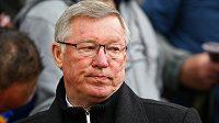 Rozladěný Alex Ferguson, kouč fotbalistů Manchesteru United