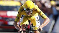 Britský cyklista Chris Froome ovládl čtvrteční horskou časovku na Tour de France.