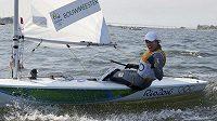 Nizozemka Marit Bouwmeesterová vyhrála na olympiádě v Riu jachtařskou disciplínu Laser Radial