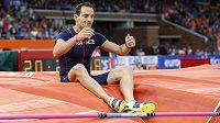 Zklamaný Renaud Lavillenie, ve finále mistrovství Evropy skončil bez zapsaného výkonu.
