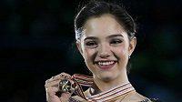Jevgenija Medveděvová z Ruska.