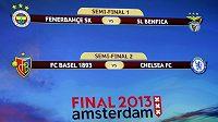 Los semifinále Evropské fotbalové ligy.