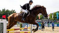 David Svoboda během jízdy na mistrovství světa v Berlíně.