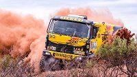 Kamión Liaz Martina Macíka na Rallye Dakar 2017.