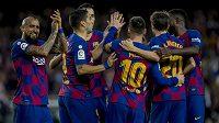 Fotbalisté Barcelony (ilustrační foto).