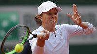 Polka Iga Šwiateková ve finále French Open.