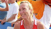Běžkyně Eva Vrabcová-Nývltová na ME v Amsterdamu.