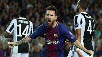 Barcelonský Lionel Messi